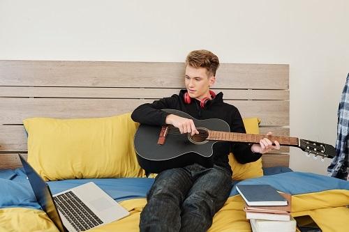 des cours de musique en ligne